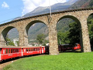 Traumhafte Bahnstrecken der Schweiz II