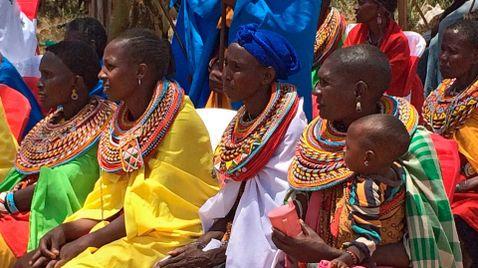 Die Perlenmädchen von Kenia