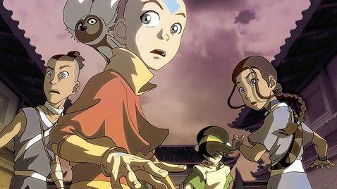 Avatar - Der Herr der Elemente auf Nicktoons