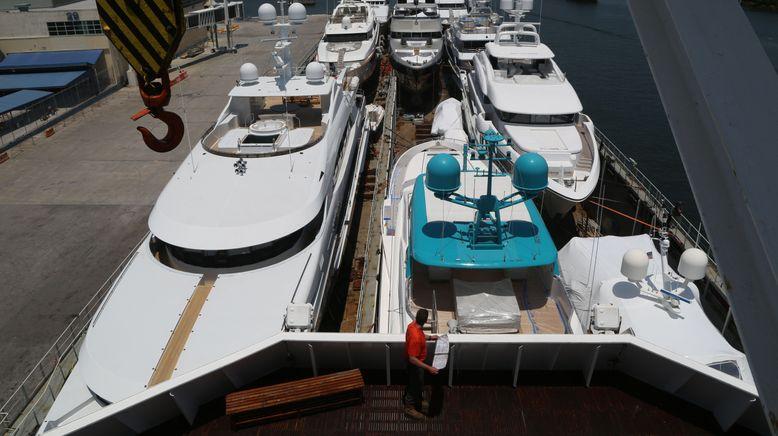 Kostbare Fracht - Yacht-Transport über den Atlantik