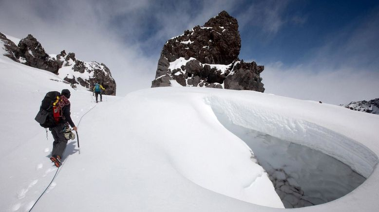 Feuer und Eis - Expedition zum Mount St. Helens
